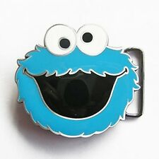 Sesame Street 3D COOKIE MONSTER Belt Buckle