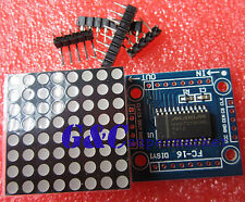 2pcs MAX7219 dot matrix module Arduino microcontroller module DIY KIT M67