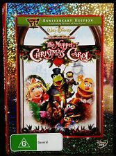 DISNEY THE MUPPET CHRISTMAS CAROL DVD PAL 4 As NEW