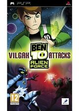 BEN 10 ALIEN FORCE  VILGAX ATTACKS     -----   pour PSP