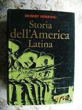 HUBERT HERRING: STORIA DELL'AMERICA LATINA . RIZZOLI, 1974