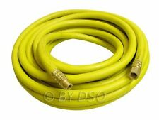 "10m x 8mm 1/4"" inch Heavy Duty 30ft Air Hose Line Garage Workshop Tool High Vis"