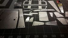 Scx10 aluminum body panels for Axial Dingo Defender 1/10
