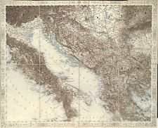 Antique maps, Italy & Dalmatian Coast