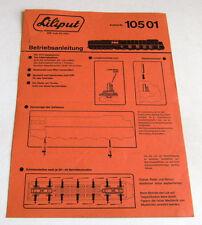 Istruzioni Liliput - Art. n° 10501 - montaggio Locomotore