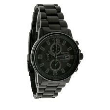 New Citizen Men's Nighthawk Flight Chronograph Eco-Drive Watch CA0295-58E