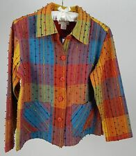NWT Resort Wear North Small Multi-Color Jacket