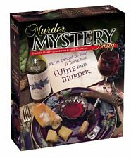 Murder Mystery Party - A Taste for Wine by University Games (Multi-color)[33202]