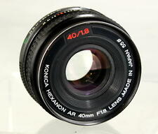 Konica Hexanon AR 40mm F1.8 Lens Looks and Works Great