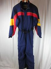 Vtg Obermeyer Ski Suit Teen Girls Juniors size 18 Multi Snowboard One Piece Snow