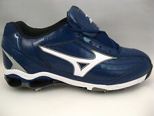 Baseball Cleats 16 Mizuno Navy Blue 9-Spike Classic Low G5 Metal Pro Style $99