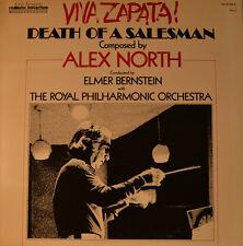 """Est-Colonna sonora-Viva Zapata! Death of a Salesman-Alex North 12"""" LP (l445)"""
