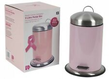 Pink Pedal Bin 3 Litre  Breast Cancer Campaign