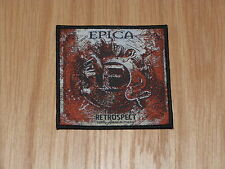 EPICA - RETROSPECT (NEW) SEW ON W-PATCH OFFICIAL BAND MERCHANDISE