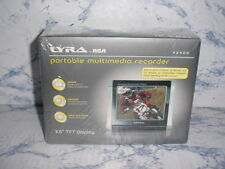 "RCA LYRA X2400 3.5""LCD DIGITAL VIDEO RECORDER AV INPUT AUDIO VIDEO INPUTS DVR DV"