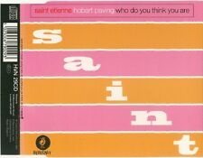 Saint Etienne Hobart paving/who do you think you are CD uk 1993 Aphex twin NEUF