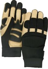 "2160T ""BLACK EAGLE"" DELUXE THINSULATE™ LINED GRAIN PIGSKIN MECHANICS GLOVES  XL"