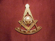 "Masonic-Past-Master cut-out car/auto Emblem 3""  tall (PSC013)"