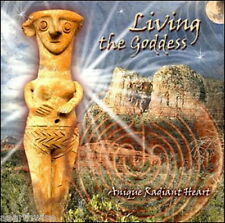 CD: LIVING THE GODDESS Wicca Witch Pagan Goth New Age ANIQUE RADIANT HEART