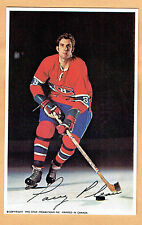 1969-71 Canadiens (Pro Star Promotions) Team Issued Postcard, Larry Pleau