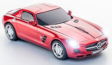 Click Car Mouse Mercedes-Benz SLS AMG Wireless Optical Mouse (Sapphire Red)