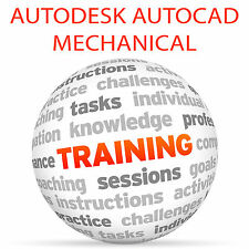 Autodesk AUTOCAD MECHANICAL - Video Training Tutorial DVD