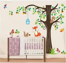 Huge Colorful Trees Wall Sticker Vinyl Decal Kid Nursery Baby Decoration Decal