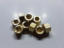 BRASS MANIFOLD NUTS CROSSFLOW XFLOW MK1 MK2 FORD ESCORT CORTINA ANGLIA FIESTA RS