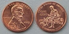 "USA 1 Cent Lincoln 2009 P ""Formative Years"" unz."