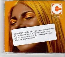 (FK539) Vitamin C, Smile Featuring Lady Saw - 1999 CD