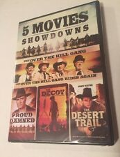 5-Movie Showdowns: The Proud and Damned/The Decoy/Over The Hill Gang**New**