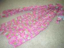 "VERA (Neumann) for Target ""Spice Drops"" Pink Oblong Scarf w/ring 26"" x 70"" NWT"