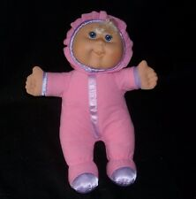 "12"" 2011 CABBAGE PATCH KIDS BABY PINK PURPLE SOFT STUFFED ANIMAL PLUSH TOY DOLL"
