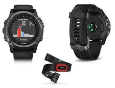 Garmin Fenix 3 Sapphire HR Bundle Multi Sport GPS Watch Wrist Heart Rate+HRM-Run