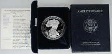 1994-P Proof American Silver Eagle with Box & COA