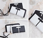 2015 New Fashion Lady Women Purse Long Wallet Bags PU Handbags Card Holder Gift
