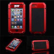 Wasserdicht Aluminium Gorilla Metallabdeckungs-Fall iPhone 7 6 4 4S 5S 5 5C Plus