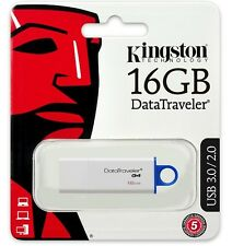 Kingston 16GB DataTraveler G4 16G USB 3.0 Flash Drive DTIG4/16GB Retail