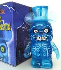 "DISNEY VINYLMATION 3"" HAUNTED MANSION SERIES 1 EZRA HATBOX HITCHHIKING GHOST TOY"