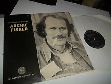 Archie Fisher - The Man With A Rhyme: Orig 1976 Vinyl LP  + Booklet EX-NM