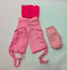 """Friends 2B Made Pink Tube Top Capris Socks Outfit for 15"""" Dolls"""