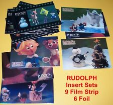 RUDOLPH the Red Nosed Reindeer Trading Cards  Chase Set