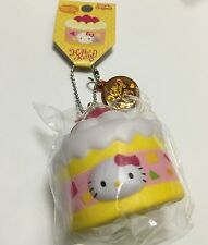 RARE Sanrio Original Hello Kitty Sweets Squishy Strawberry Cake