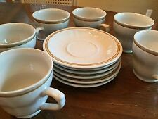 Americana by Hearthside Stoneware Japan Cup n Saucer- Set of 6