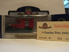 OXFORD DIECAST - A009 THE SUNDAY POST 1945 - LIMITED EDITION