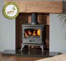 Tiger Classic Defra Approved Smoke Control Woodburning Stove multifuel