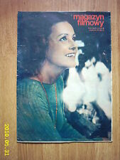 JEANNE MOREAU on cover archive Magazyn Filmowy 14/72 Polish magazine