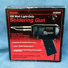 Sears Craftsman Light-Duty 100 Watt Electric Soldering Gun Iron #954044