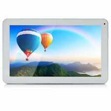 "iRULU Tablet PC 10.1"" Android 5.1 Quad Core 1024*600 16GB White w/ 32GB TF Card"