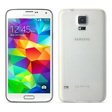 New Overstock Samsung GALAXY S5 SM-G900V WHITE VERIZON Android PHONE